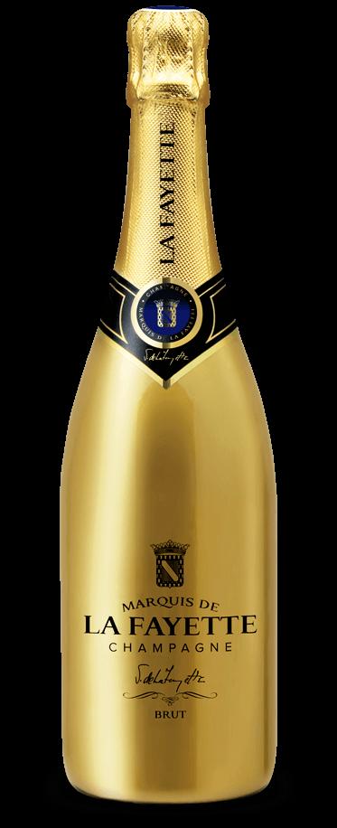 Fotografía de botella de Marquis de la Fayette Brut