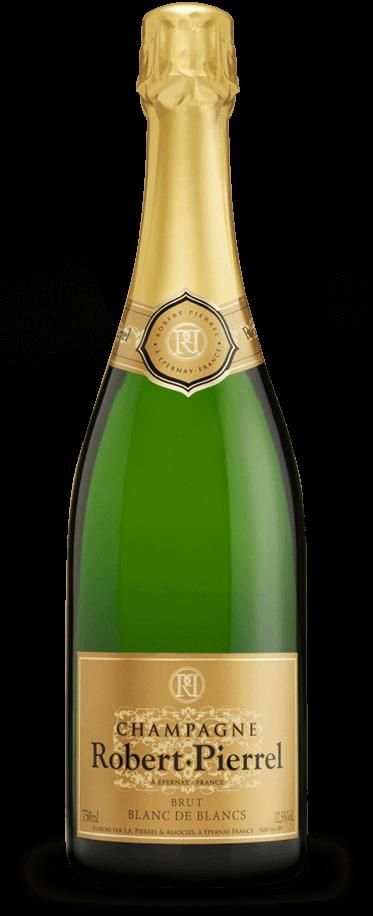 Fotografía de champagne Robert Pierrel Tradition Brut Blanc de Blancs,