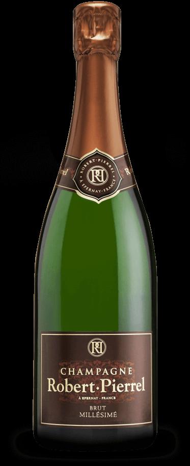 Fotografía de botella de Robert Pierrel Tradition Millésimé.