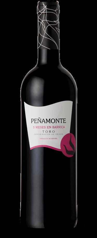 Fotografía de una botella de Peñamonte 5 Meses