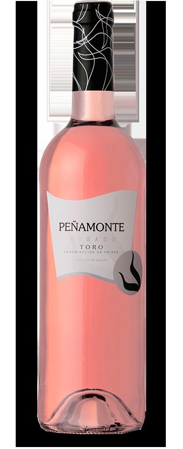 Fotografía de una botella de Peñamonte Rosado Cosecha.