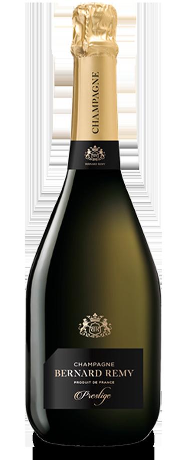 Fotografía de botella del champagne Bernard Remy Prestige.