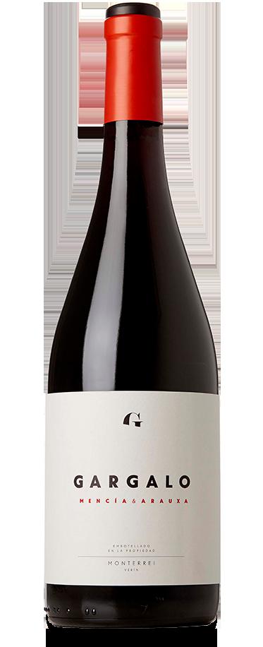 Fotografía de una botella de Gargalo Mencía & Arauxa.