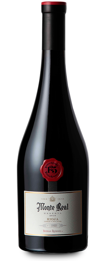 Fotografía de botella de Monte Real 125 Aniversario