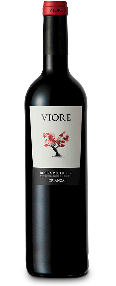 Fotografía de la botella de vino Viore Crianza Ribera.