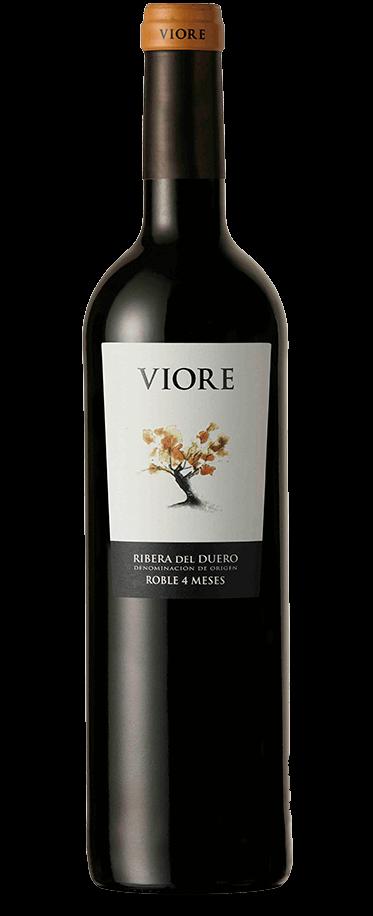 Fotografía de la botella del vino Viore Roble Ribera.