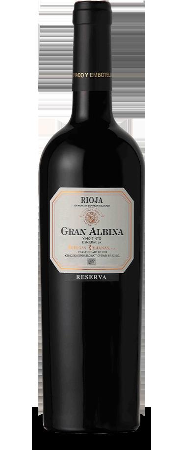 Fotografía de botella de Gran Albina Reserva