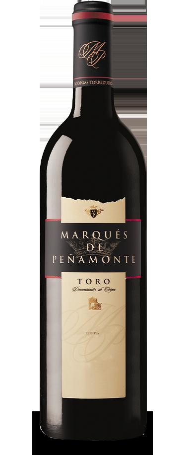Fotografía de botella de Marqués de Peñamonte Reserva.