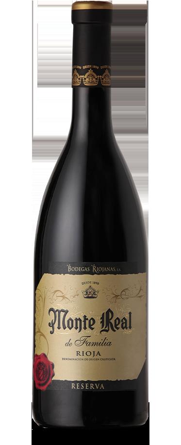 Fotografía de botella de Monte Real de Familia