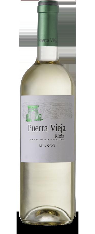 Fotografía de botella de Puerta Vieja Blanco