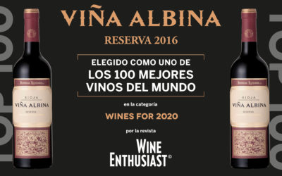 VIÑA ALBINA Reserva 2016 en el Top 100 de los Mejores Vinos del Mundo