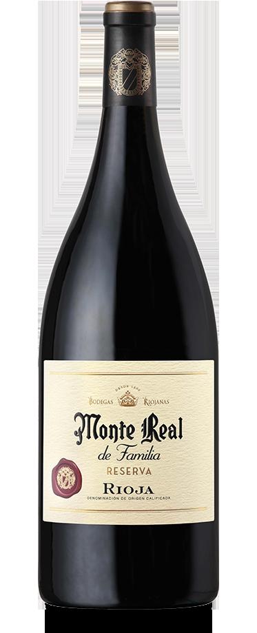 Fotografía de botella magnum de Monte Real de Familia